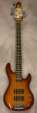 G and L Tribute L2500 Tobacco Burst matching Headstock