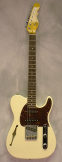 G and L ASAT Classic S Semi Hollow Vintage White