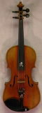 USED German Violin Circa 1920's with Inlaid Wood