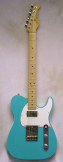 G and L Bluesboy Bel Air Green w/ HSC