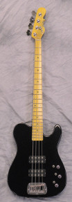 G and L ASAT Bass Black