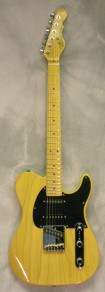 G and L ASAT Classic S Butterscotch Blonde